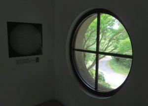 本館-丸窓-花山天文台