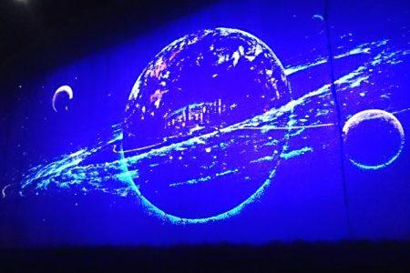 花巻-銀河鉄道の壁画2