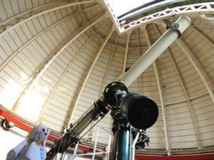 別館-18cm屈折望遠鏡-花山天文台