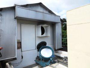 太陽館-望遠鏡外観1-花山天文台
