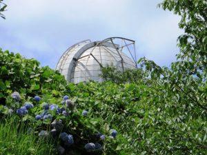 花山天文台の丸屋根