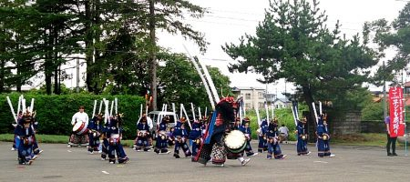 子ども鹿踊り-水沢天文台