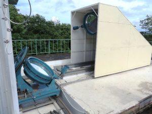 太陽館-望遠鏡外観2-花山天文台